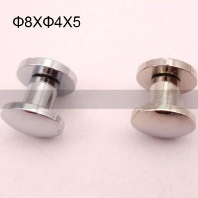 FR012 Brass Binding Screws-Chicago Screws-Cambered 8x4x5mm 500pcs/Bag