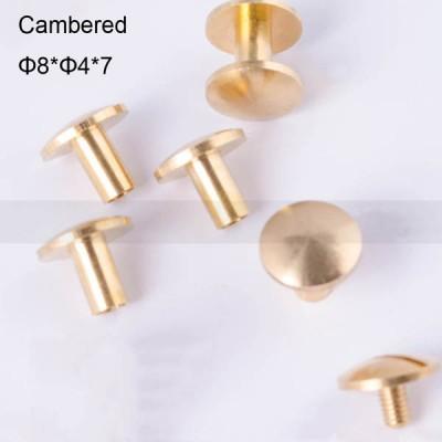 FR015 Custom Chicago Screws-Binding Screws-Cambered 8x4x7mm 100pcs/Bag