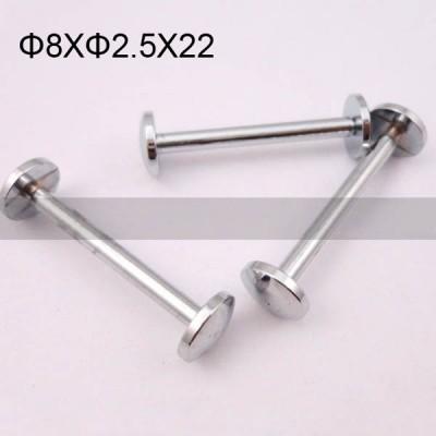 FR024 Brass Hollow Rivet Chicago Screws 8x2.5x22mm 500pcs/Bag
