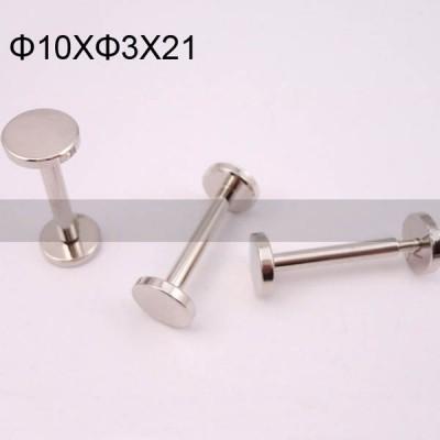 FR031 Chicago Screws-Binding Screws-Plane 10x3x21mm 100pcs/bag