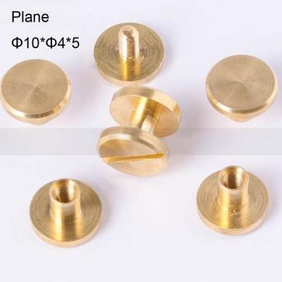 FR034 Chicago Screws-Binding Screws-Plane 10x4x5mm 100pcs/bag