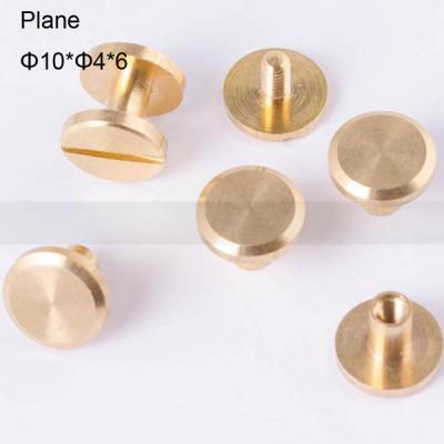 FR036 Chicago Screws-Binding Screws-Plane 10x4x6mm 100pcs/bag