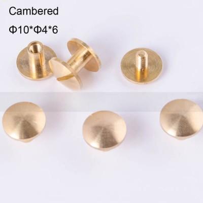 FR037 Chicago Screws-Binding Screws-Cambered 10x4x6mm 100pcs/bag