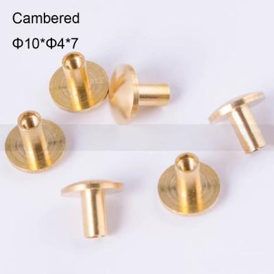 FR039 Chicago Screws-Binding Screws-Cambered 10x4x7mm 100pcs/bag
