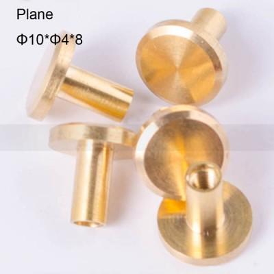FR040 Chicago Screws-Binding Screws-Plane 10x4x8mm 100pcs/bag