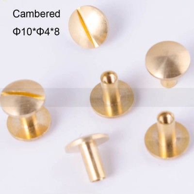 FR041 Chicago Screws-Binding Screws-Cambered 10x4x8mm 100pcs/bag