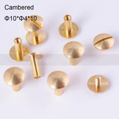 FR043 Chicago Screws-Binding Screws-Cambered 10x4x10mm 100pcs/bag
