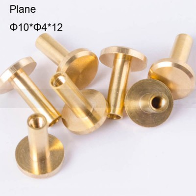 FR044 Chicago Screws-Binding Screws-Plane 10x4x12mm 100pcs/bag
