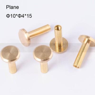 FR046 Chicago Screws-Binding Screws-Plane 10x4x15mm 100pcs/bag