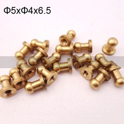 FR103 Monk Head Screws brass 5x4x6.5mm 1000pcs/Bag