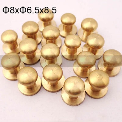 FR107 Leather Monk Head Screw 8x6.5x8.5mm 1000pcs/Bag