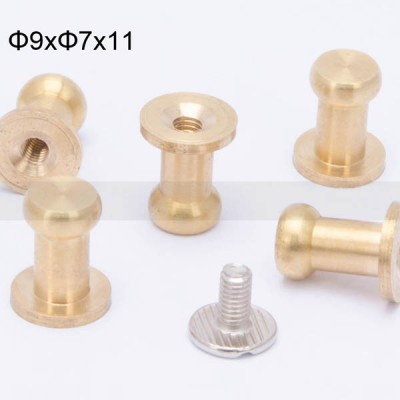 FR116 Nipple-Head Monk Screws 9x7x11mm 1000pcs/Bag
