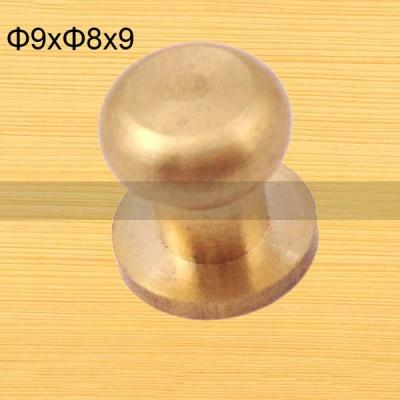 FR117 Nipple-Head Monk Screws 9x8x9mm 100pcs/Bag
