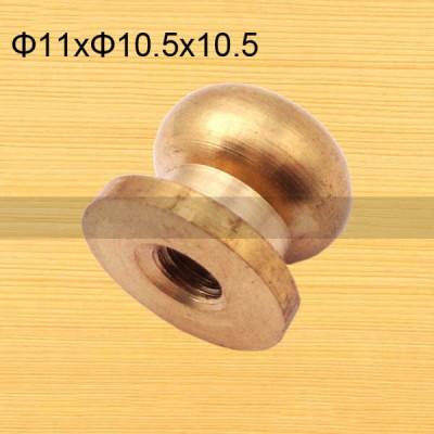 FR125 Nipple-Head Monk Screws 11x10.5x10.5mm 500pcs/Bag
