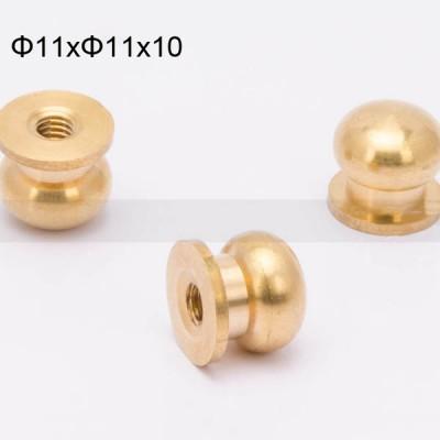 FR126 Nipple-Head Monk Screws 11x11x10mm 500pcs/Bag