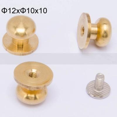 FR129 Nipple-Head Monk Screws 12x10x10mm 500pcs/Bag