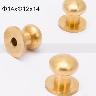 FR138 Nipple-Head Monk Screws 14x12x14mm 200pcs/Bag