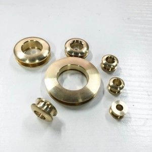 FR204 Custom Eyelets Screws Brass 16x8.5x3.5mm 100pcs/bag