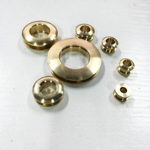 FR205 DIY Eyelets Screws Brass 20x10x3.5mm 100pcs/bag