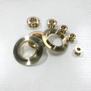 FR207 Eyelets Screws Brass For Leather 40x23x3.5mm 100pcs/bag