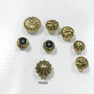 FR302 Wallet Button 14x8mm 100pcs/bag