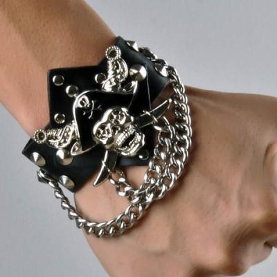 Skull-Punk Bracelet HJ003