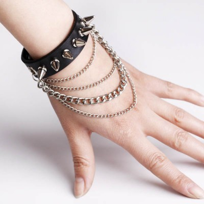 Spikes-Rivets-Punk Bracelet HJ013