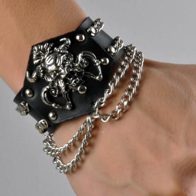 Skull-Punk Bracelet HJ016
