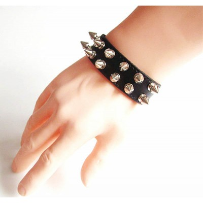 Spikes-Rivets-Punk Bracelet HJ024