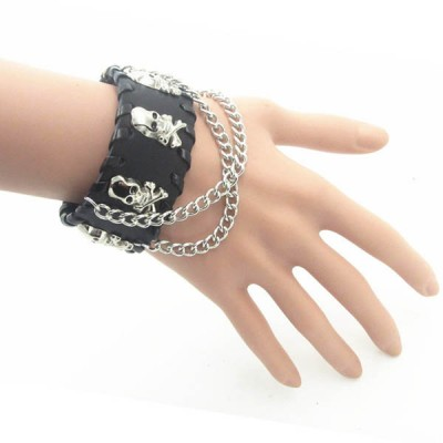 Skull-Punk Bracelet HJ045