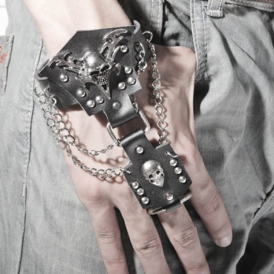 Skull-Punk Bracelet HJ048
