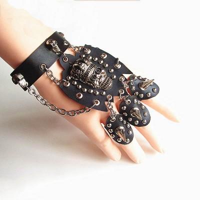 Skull-Punk Bracelet HJ067