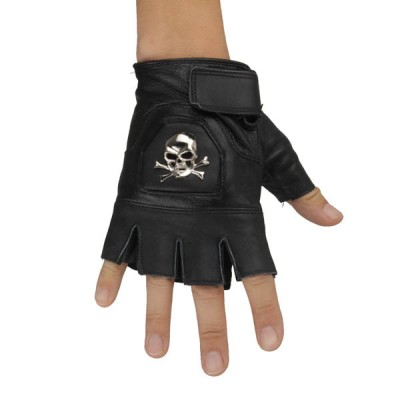 Skull-Rivets-Punk-Gloves HJ202