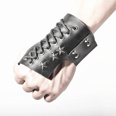 Spikes-Rivets-Punk-Gloves HJ212