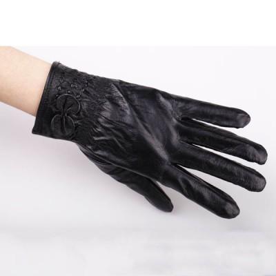 Women's Spikes-Rivets-Punk-Gloves HJ213