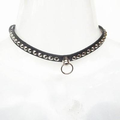 Spikes-Rivets-Punk-Necklaces HJ365