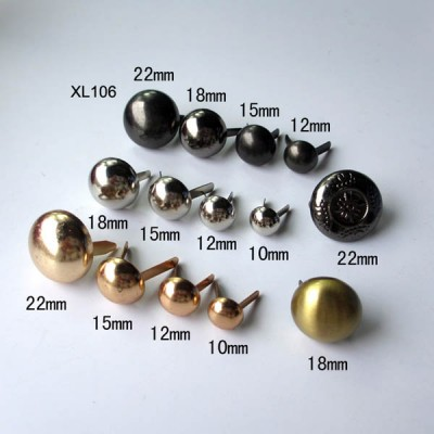 XL106 Dome Studs 22mm 100pcs/bag