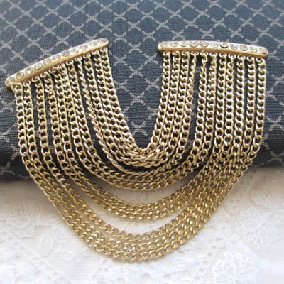 XL108 DIY diamond chain buckles/Clothes decoration/Shoes Accessories/Badges rivets/decorative buckle/Tassel chain 54mm MOQ 10pcs