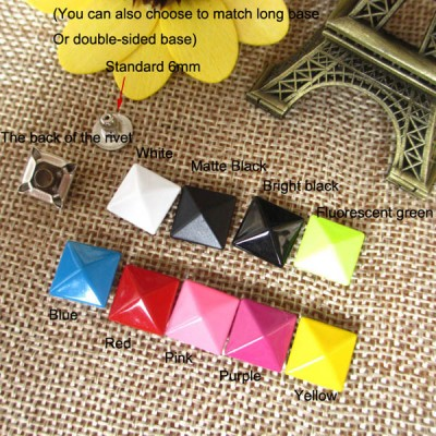 XL305 Pyramid Rivets 10mm 100pcs/bag