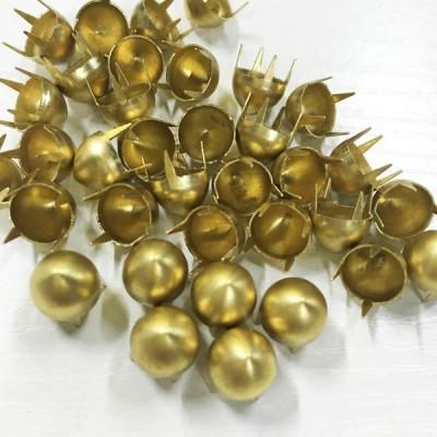 B102 Dome Iron/Brass Studs 9x6.5mm 1000pcs/bag