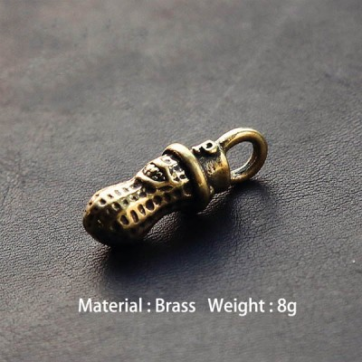 NA002 Japanese Brass Peanuts 23.5mm