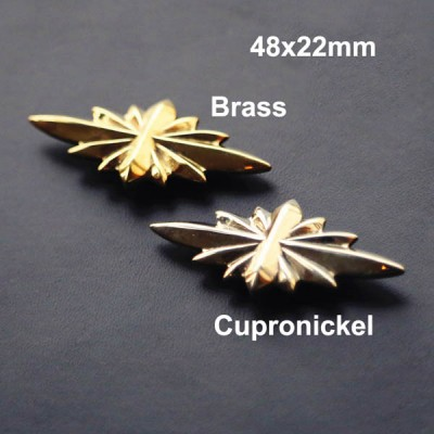 NA035 Conchos for Headstalls Star of Hope 48x22mm/65x28mm