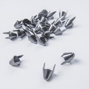 UK77 Round Cone Stud Gun Metal
