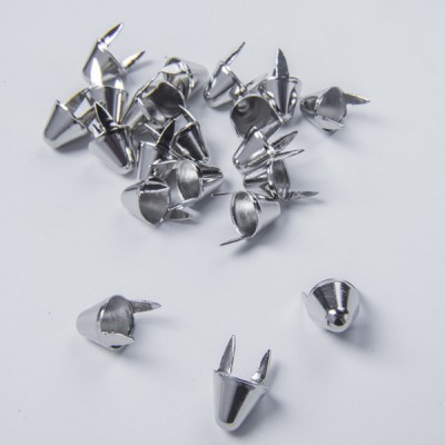 A054 UK77 Cone Studs(iron/brass) 12.7x10.8mm 100pcs/bag