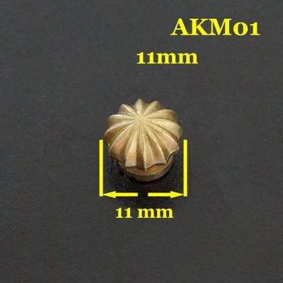 AKM01-11 Conchos For Belts 11mm 1pc/bag