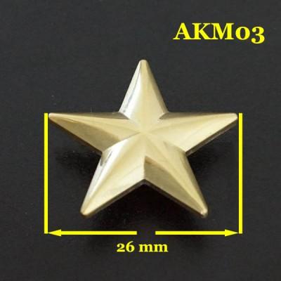 AKM03-26 Concho Jewelry 26mm 1pc/bag