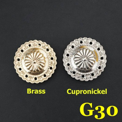 G30 Western Conchos Wholesale 36.5mm 1pc/bag