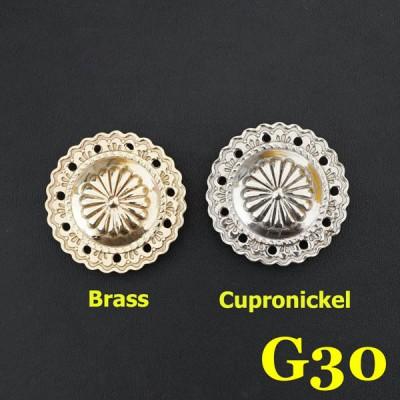G30 Western Conchos Wholesale 36.5mm 1pc/bag