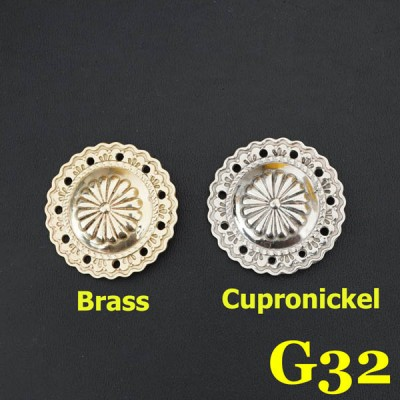 G32 Conchos Square 36.5mm 1pc/bag