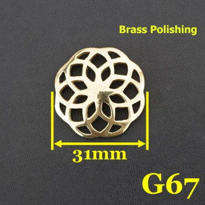 G67 Wholesale Western Conchos 31mm 1pc/bag